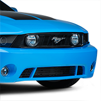 Roush 6 Bar Lower Black Billet Grille (10-12 GT, V6)