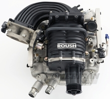 Roush M90 Supercharger Kit - Black (05-10 GT)