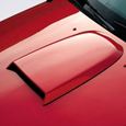 Roush Mustang Hood Scoop - Unpainted (05-09)