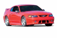 Roush Stage 3 Body Kit w/ Wing - Unpainted (99-04 GT, V6)