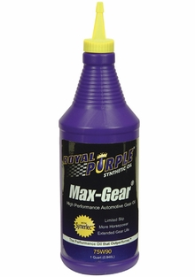 Royal Purple Max Gear 75w90 Gear Oil