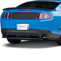 RTR Rear Diffuser with 3pc Splitter (10-12 All)