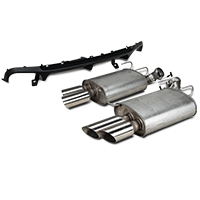 Ford Racing Shelby GT500 Rear Valance & Exhaust Kit (13-14 All)