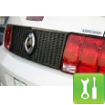 SHR Mustang Honeycomb Taillight Panel (05-09) - Installation Instructions