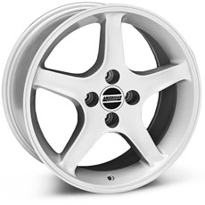Silver 1995 Cobra R Wheels (79-93)