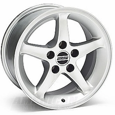 Silver 1995 Cobra R Wheels (99-04)