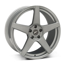 Silver Forgestar CF5 Wheels (2010-2014)