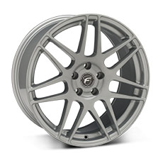 Silver Forgestar F14 Wheels (2010-2014)