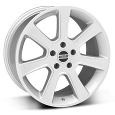 Silver S197 Saleen Style Wheels (2005-2009)