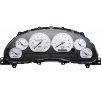 Simco Classic Series Gauge Cluster - Chrome (99-04 GT)