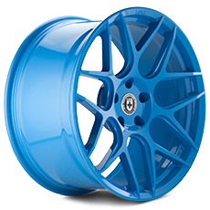 Sky Blue HRE Flowform FF01 Wheels (2010-2014)