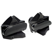 Raxiom Smoked Fog Lights - Pair (99-04 GT, V6, Mach 1)