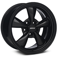 Solid Black Bullitt Wheels (1987-1993 5 Lug Conversion)