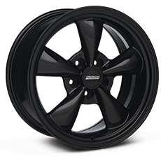 Solid Black Bullitt Wheels (2005-2009)