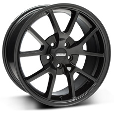 Solid Black FR500 Wheels (2005-2009)