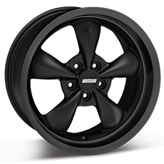 Solid Matte Black Bullitt Wheels (2005-2009)