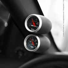 Speed of Sound Dual Gauge Pillar - Coupe - Dark Charcoal (05-09 All)