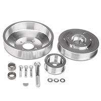 SR Performance Underdrive Pulleys - Polished (96-Mid 01 GT)