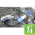Steeda Complete Cold Air Intake Kit ('05-'09 GT) - Installation Instructions
