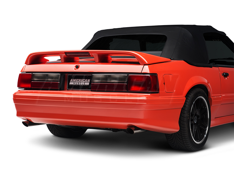mustang lx stock style replacement tail lights pair 87. Black Bedroom Furniture Sets. Home Design Ideas