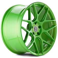 Tequila Lime HRE Flowform FF01 Wheels (2005-2009)