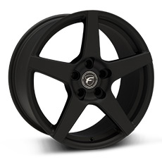 Textured Black Forgestar CF5 Wheels (1999-2004)
