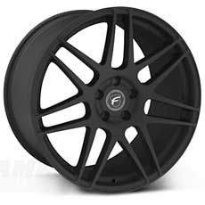 Textured Black Forgestar F14 Wheels (2005-2009)