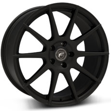 Textured Matte Black Forgestar CF10 Wheels (2010-2014)