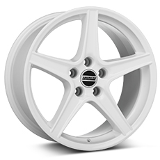 White Saleen Style Wheels (2005-2009)