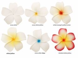 "2.5"" Classic Hawaiian Flower Hair Clip (available in 6 colors)"