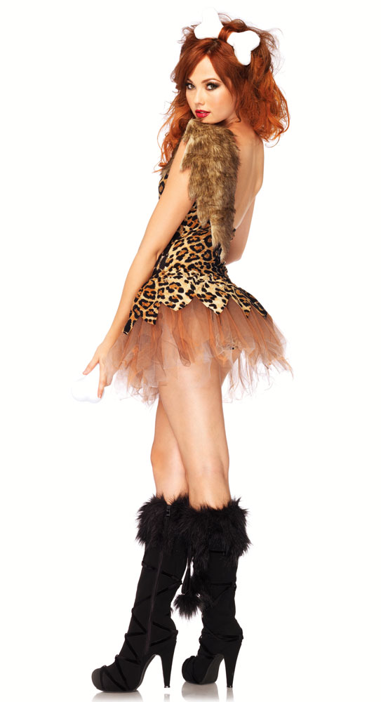 2-Piece Cave Girl Cutie Costume