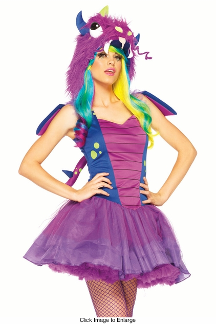 2-Piece Darling Dragon Costume