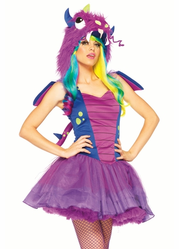 2-Piece Darling Dragon Halloween Costume