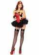 2-Piece Firehouse Hottie Costume inset 1