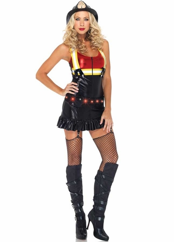 2-Piece Hot Spot Honey Light-Up Costume