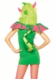 2-Piece Magic Dragon Furry Hood Costume inset 1