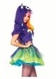 2-Piece Purple Posh Monster Furry Costume inset 2