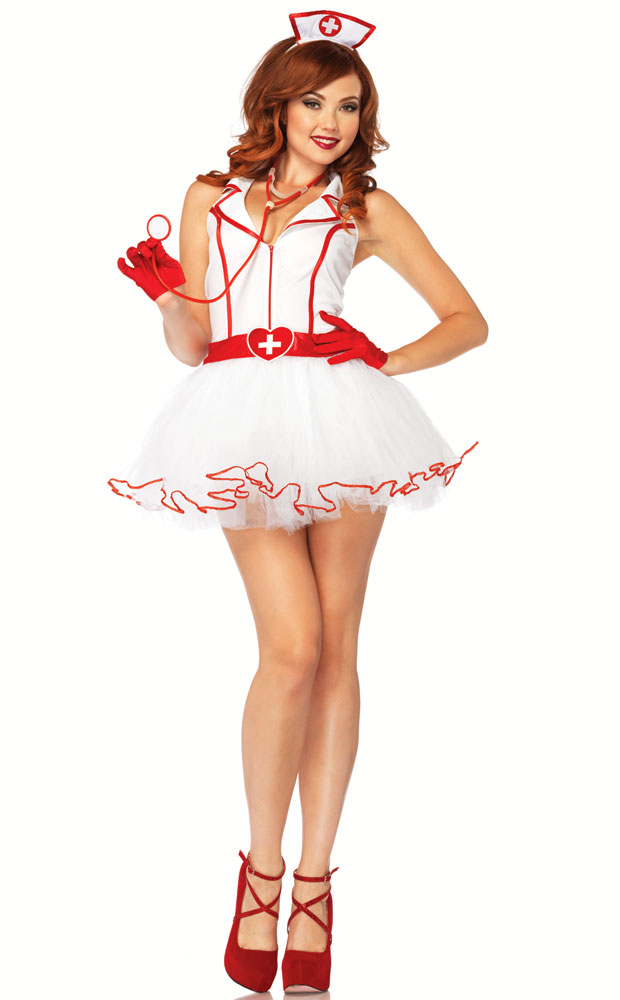 2-Piece Ravishing RN Nurse Costume