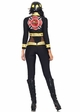 2-Piece Red Blaze Firefighter Costume inset 1