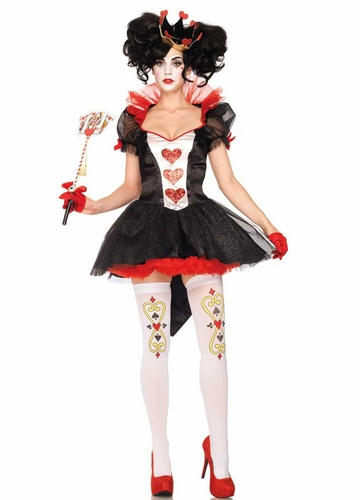 Queen Of Hearts Royal Halloween Costume