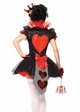 Queen Of Hearts Royal Halloween Costume inset 1