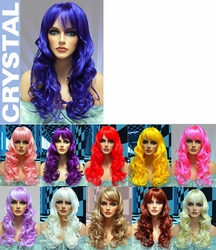 Crystal- Long Bouncy Anime Curl Wig