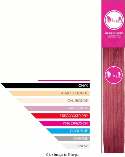 """24"""" Long Anime Color Hair Extensions"""