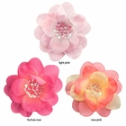 """3.5"""" Flower Hair Clip with Sequin Iridescent Center"""