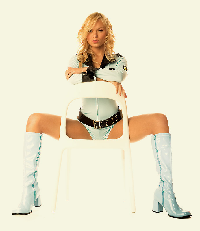 3 Quot Go Go Boots In Baby Blue Vinyl Patent Leather