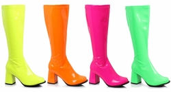 "3"" Gogo Boots in Neon Colors"