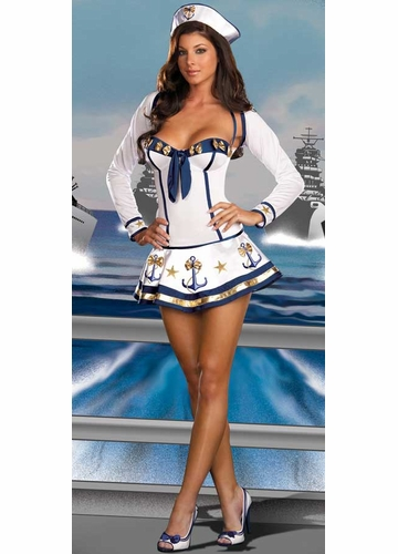 3-Piece Anchor Sailor Costume