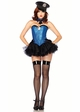 3-Piece Captivating Cop Costume inset 1