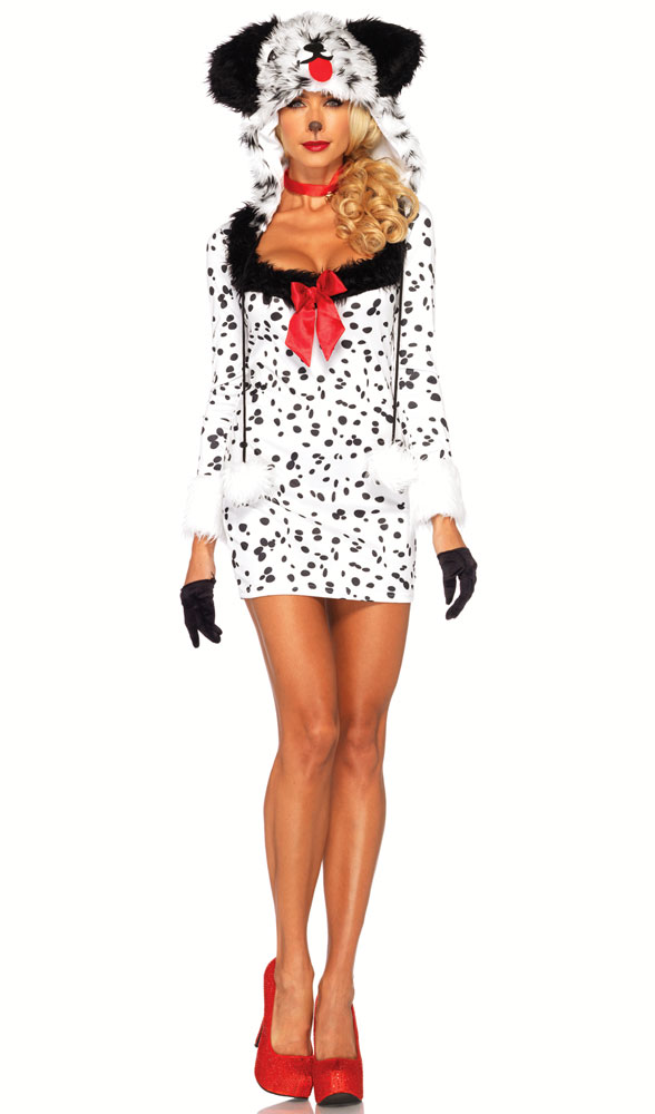 3-Piece Dotty Dalmatian Costume