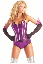 Galaxy Super Hero Babe Costume